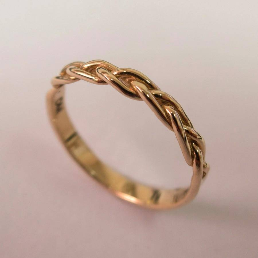 Braided Ring No (View 11 of 15)
