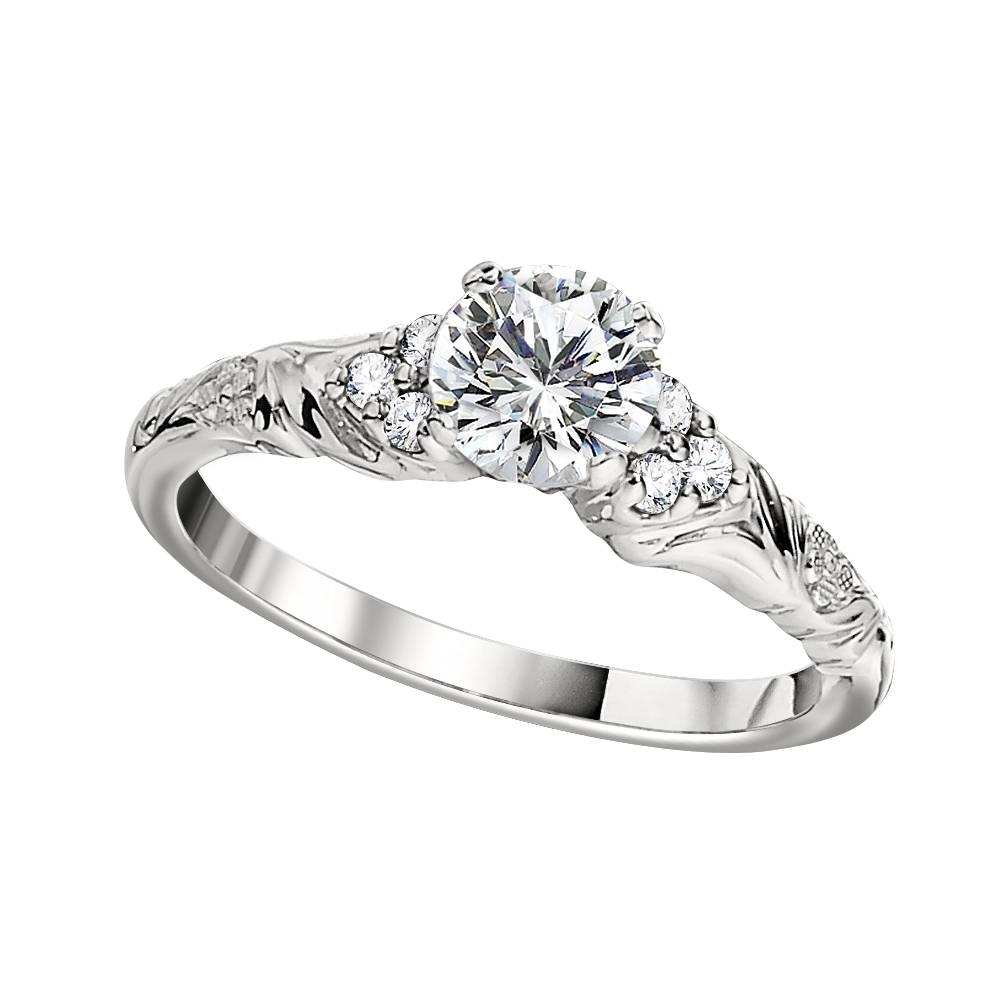 Featured Photo of Vintage Wedding Rings Settings