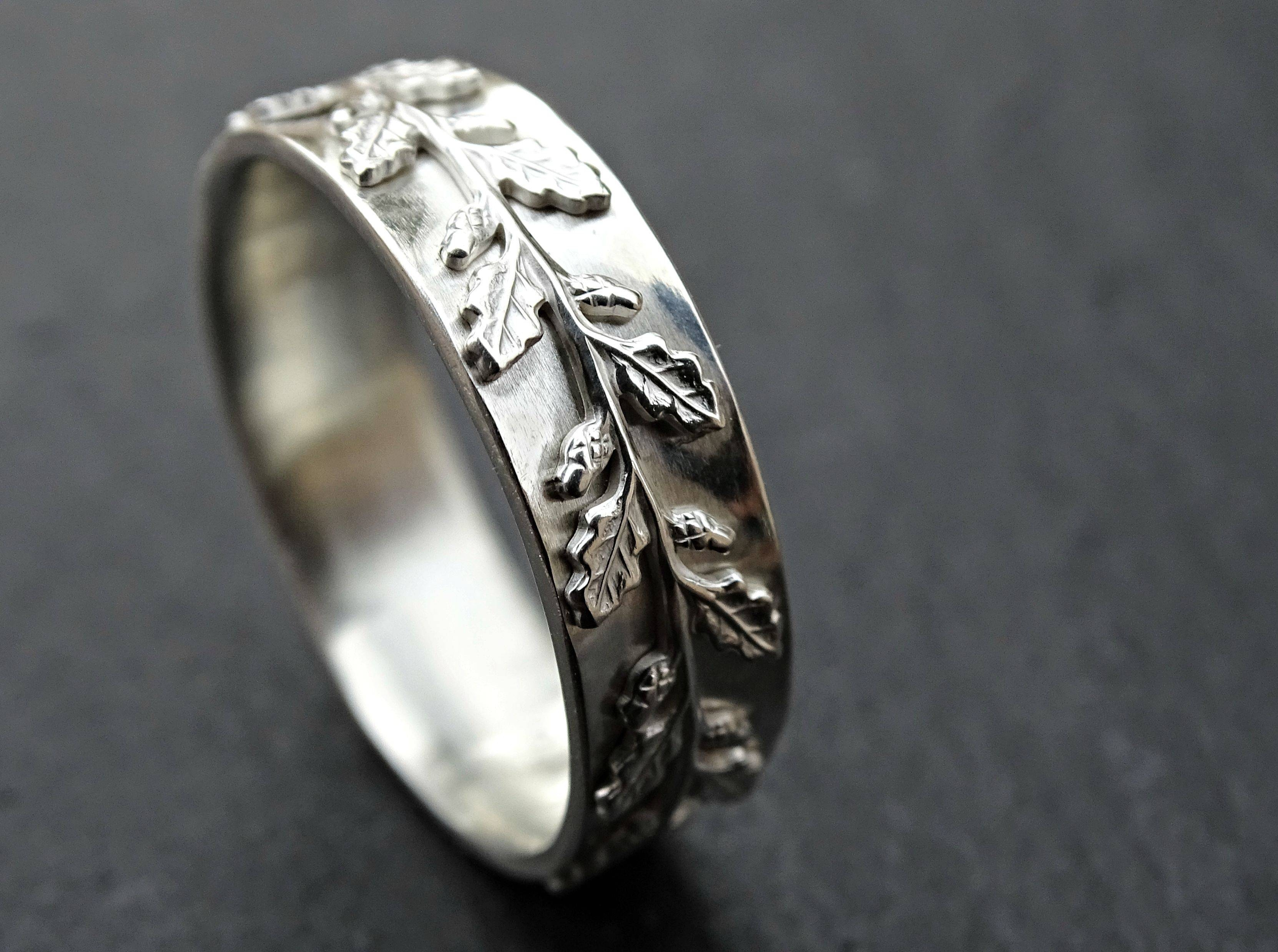 Buy A Custom Made Medieval Wedding Ring Silver, Fairy Tale Wedding Throughout Pagan Engagement Rings (View 2 of 15)