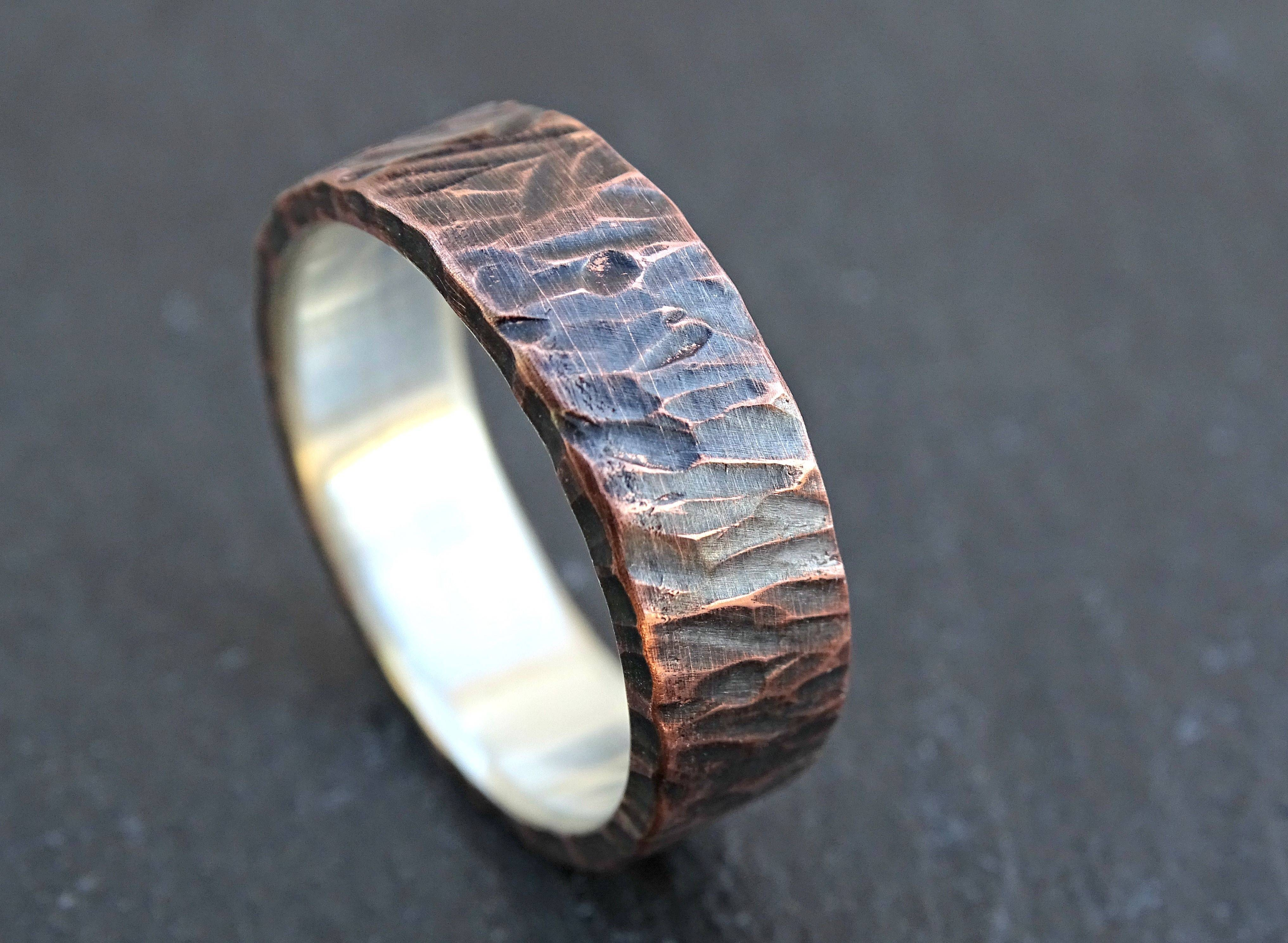 Buy A Custom Made Viking Wedding Band, Mens Promise Ring Or Unique Within Mens Custom Wedding Rings (View 13 of 15)