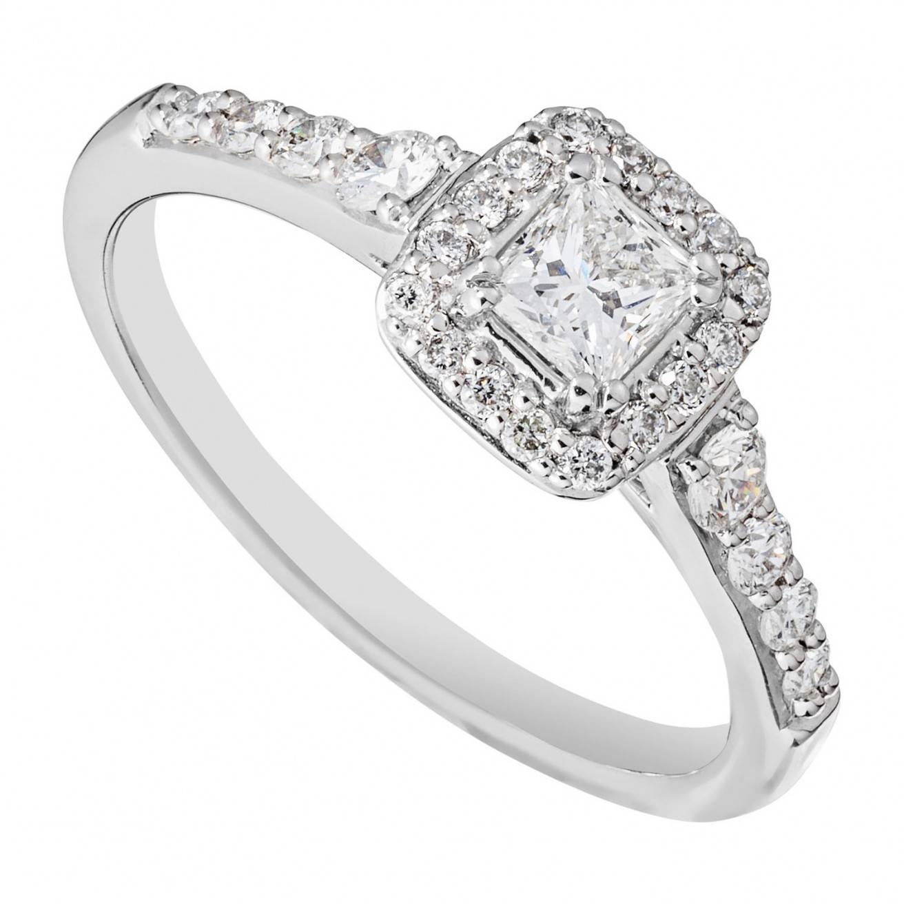 Buy A Diamond Engagement Ring Fraser Hart In Cluster Wedding Rings Gallery 14