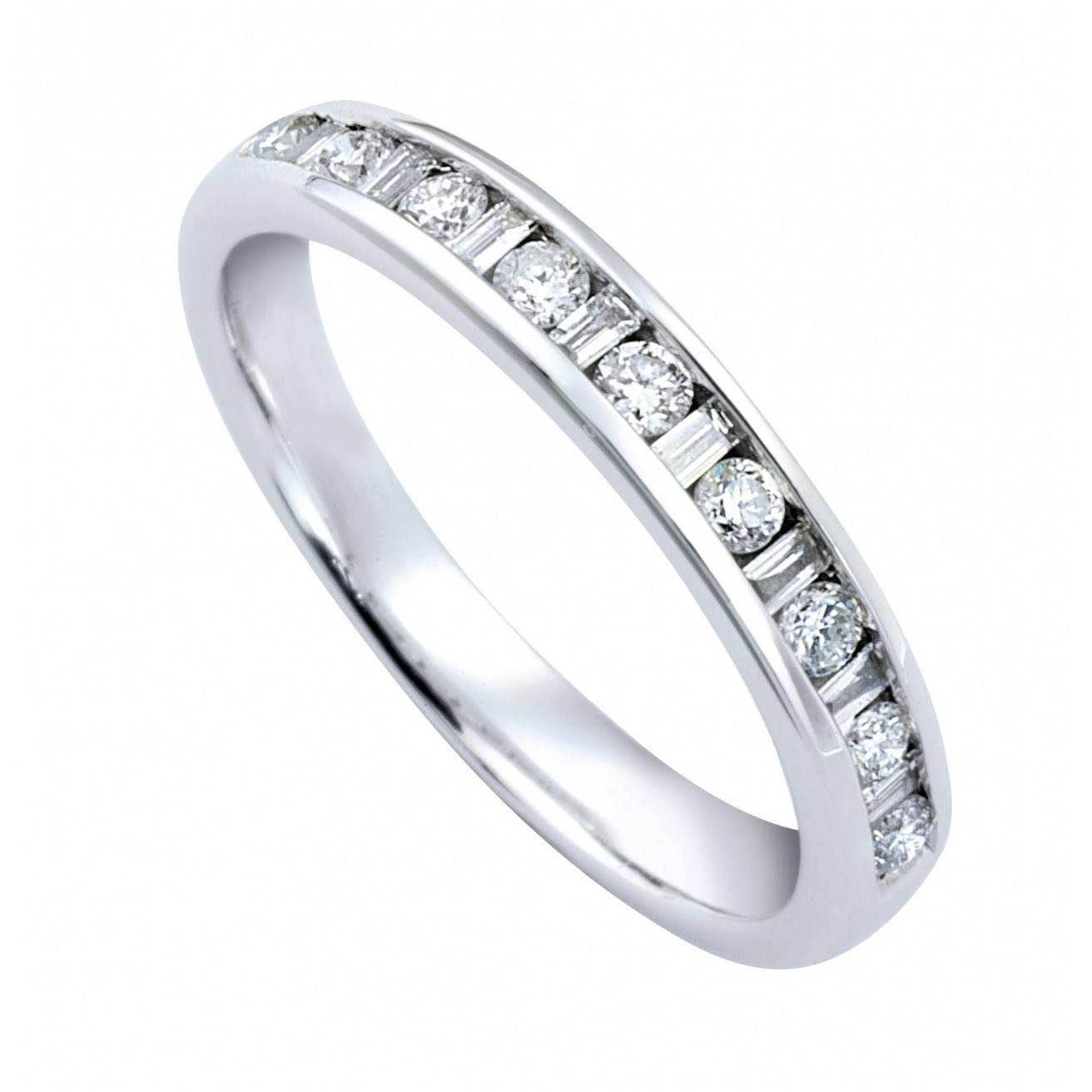 Buy A Diamond Wedding Ring Online – Fraser Hart Pertaining To Baguette Diamond Wedding Rings (View 10 of 15)