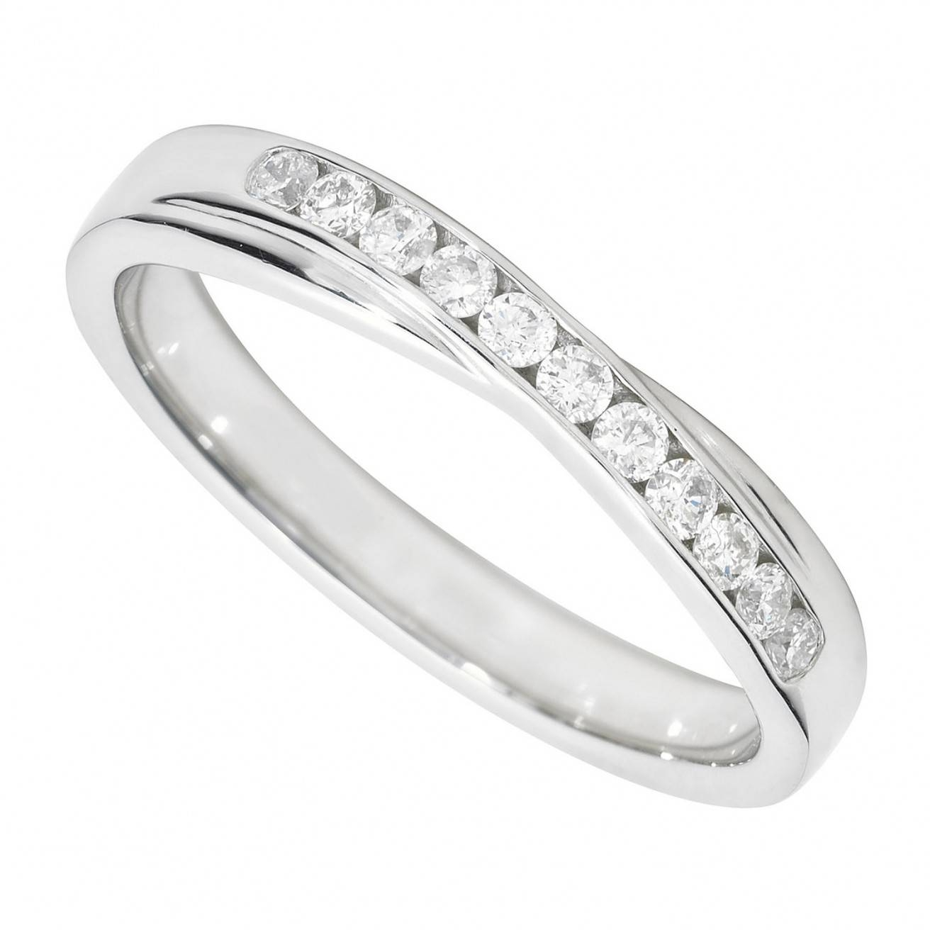 Buy A Diamond Wedding Ring Online Fraser Hart Throughout Platinum Rings View