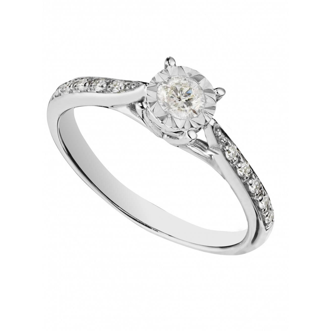 Buy A White Gold Engagement Ring Fraser Hart With Wedding Rings Diamonds