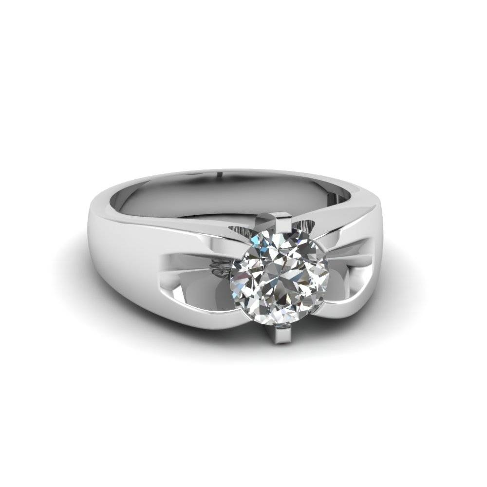 Buy Affordable Mens Wedding Rings Online | Fascinating Diamonds Intended For Wedding Rings Bands With Diamonds (View 6 of 15)