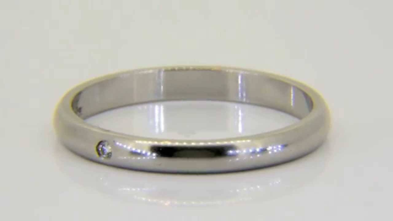 Buy Cartier, 'ballerine' Platinum & Diamond Wedding Band Ring Www Regarding Cartier Wedding Bands (View 3 of 15)
