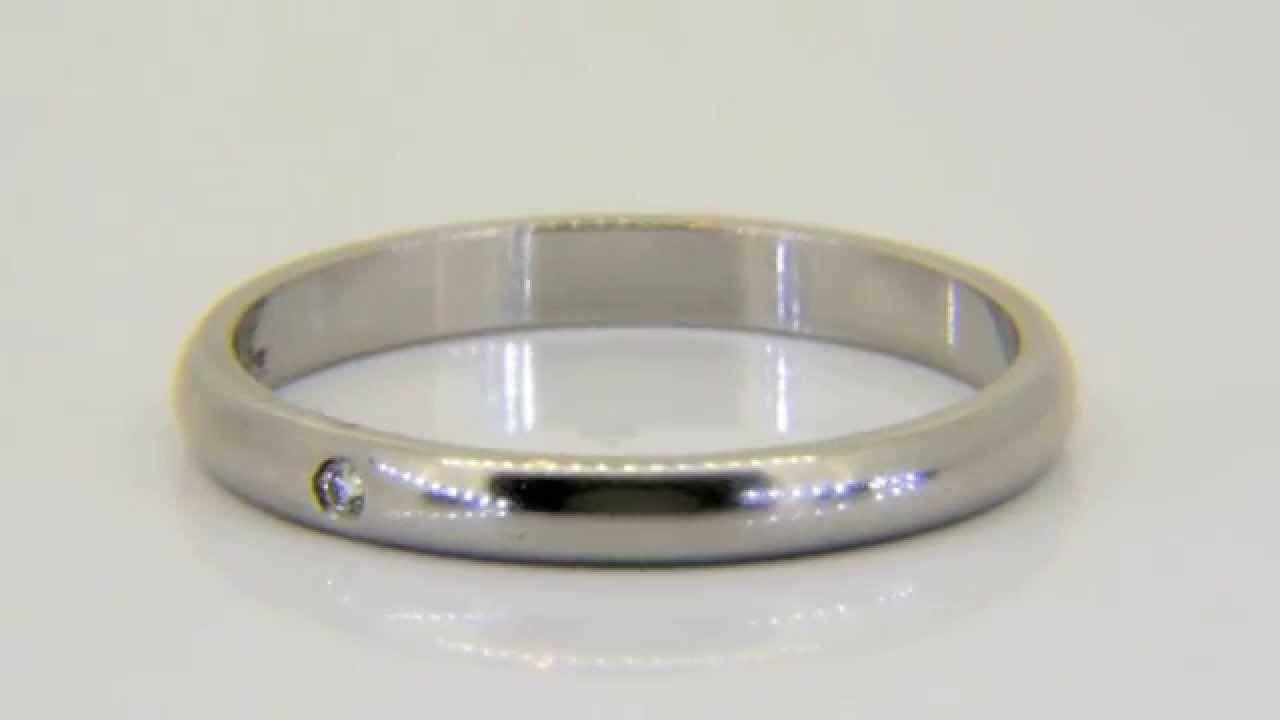 Buy Cartier, 'ballerine' Platinum & Diamond Wedding Band Ring Www Regarding Cartier Wedding Bands (View 10 of 15)
