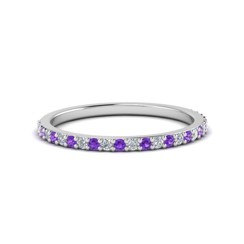 Buy Custom Purple Topaz Wedding Rings And Bands|Fascinating Diamonds Regarding Purple Wedding Bands (Gallery 18 of 20)