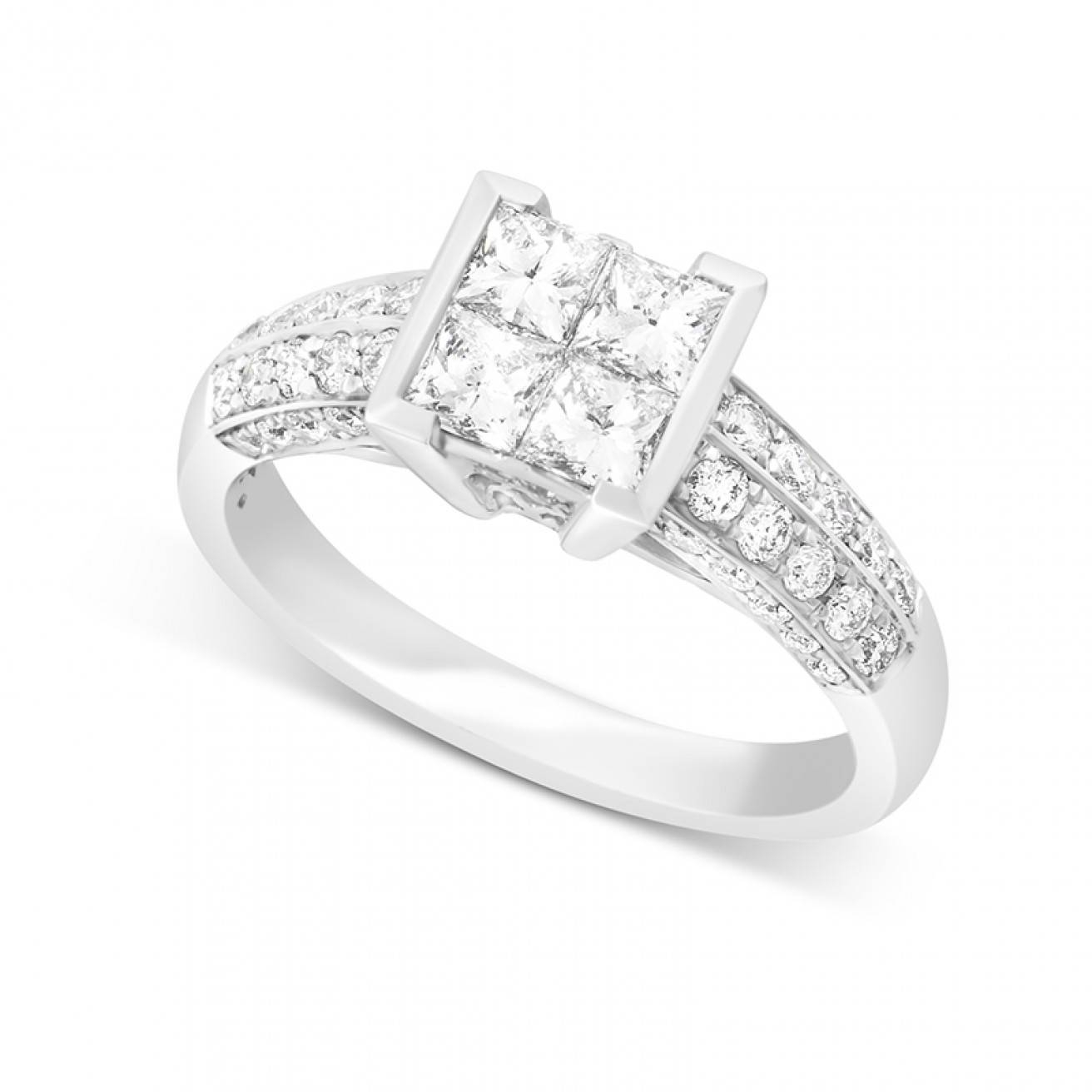 Buy Diamond Engagement Rings Online – Fraser Hart Intended For Discontinued Engagement Rings (View 5 of 15)
