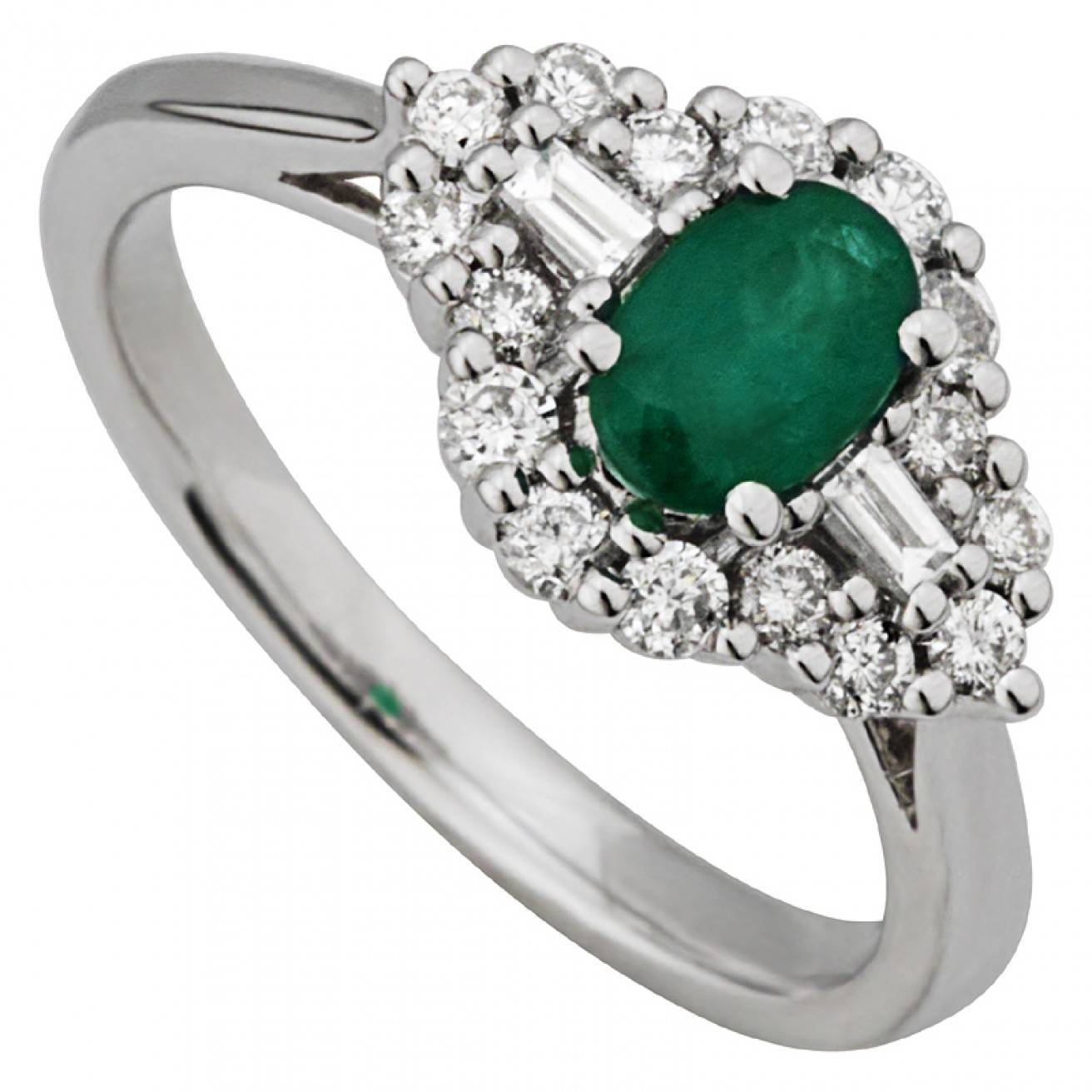 Buy Dress Rings, Cocktail Rings – Fields.ie With Irish Emerald Engagement Rings (Gallery 7 of 15)