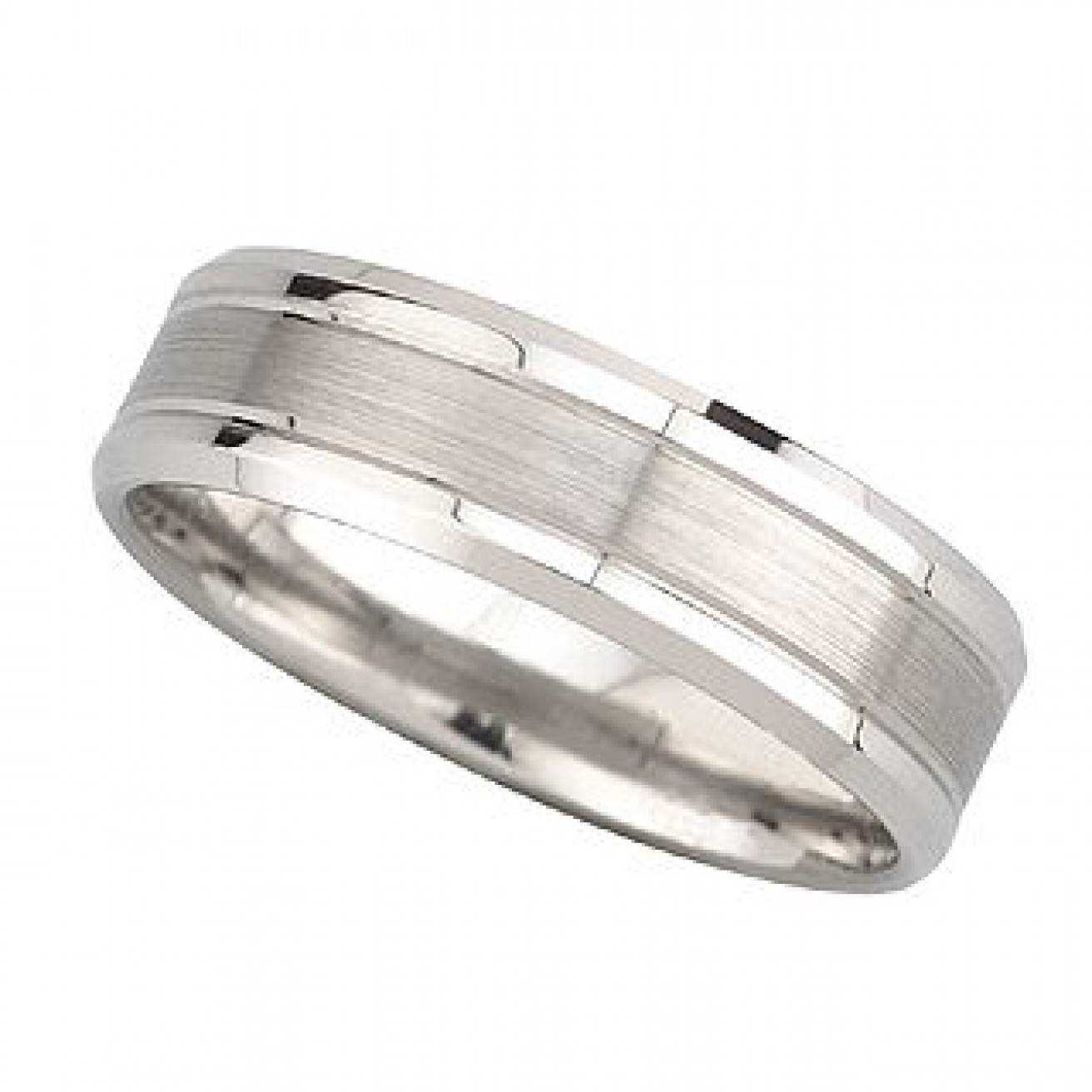 Photo Gallery of Platinum Male Wedding Rings Viewing 12 of 15 Photos