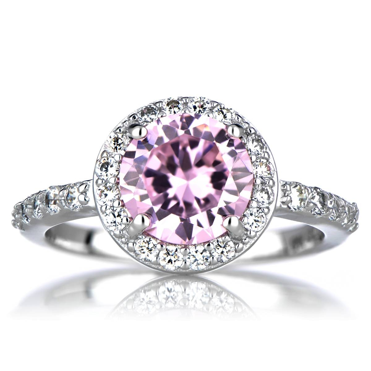 Buy Online Birthstone Engagement Rings – Pretty Jewelry Intended For October Birthstone Engagement Rings (View 3 of 15)