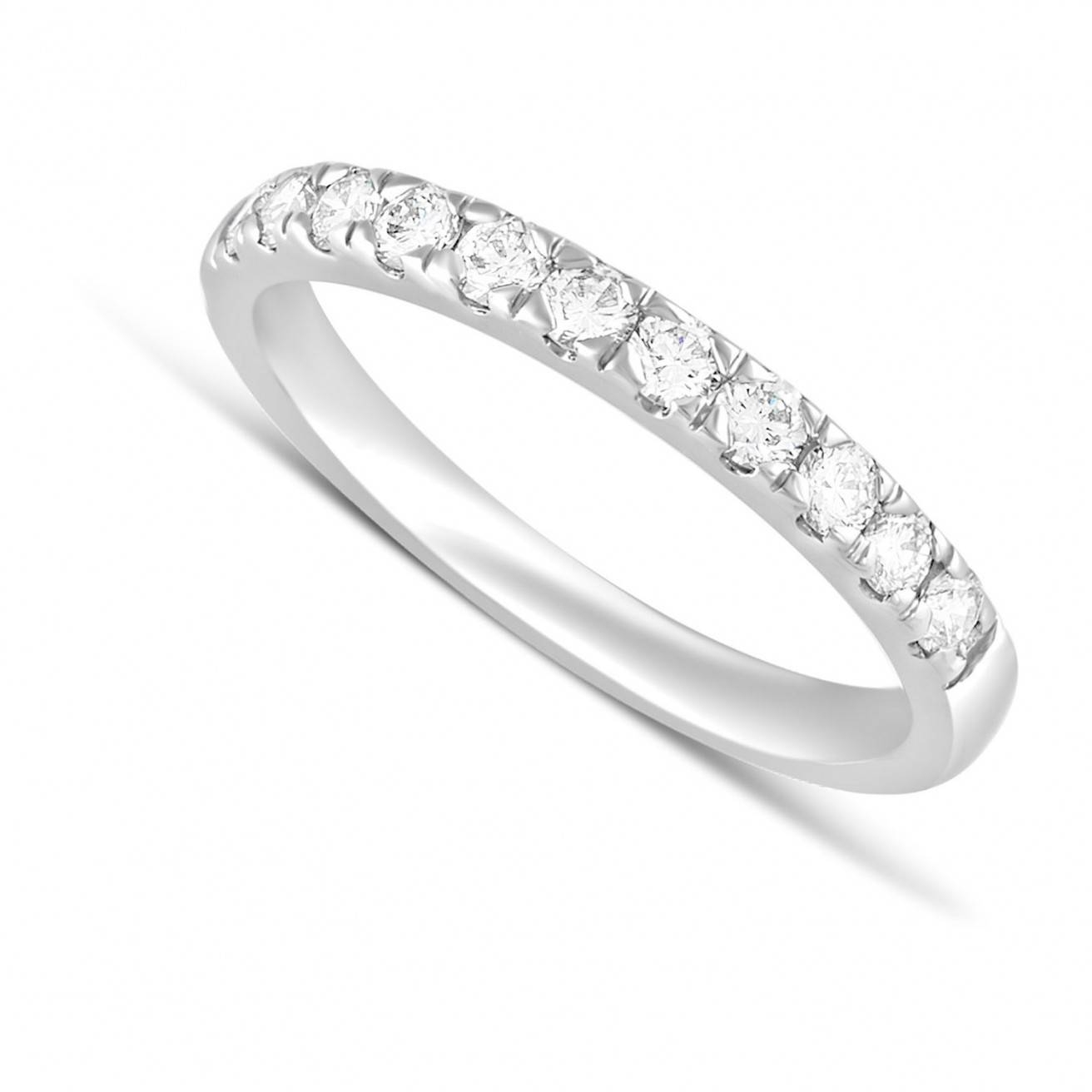Buy Platinum Wedding Bands Online – Fraser Hart In Platinum Diamond Wedding Rings (View 3 of 15)