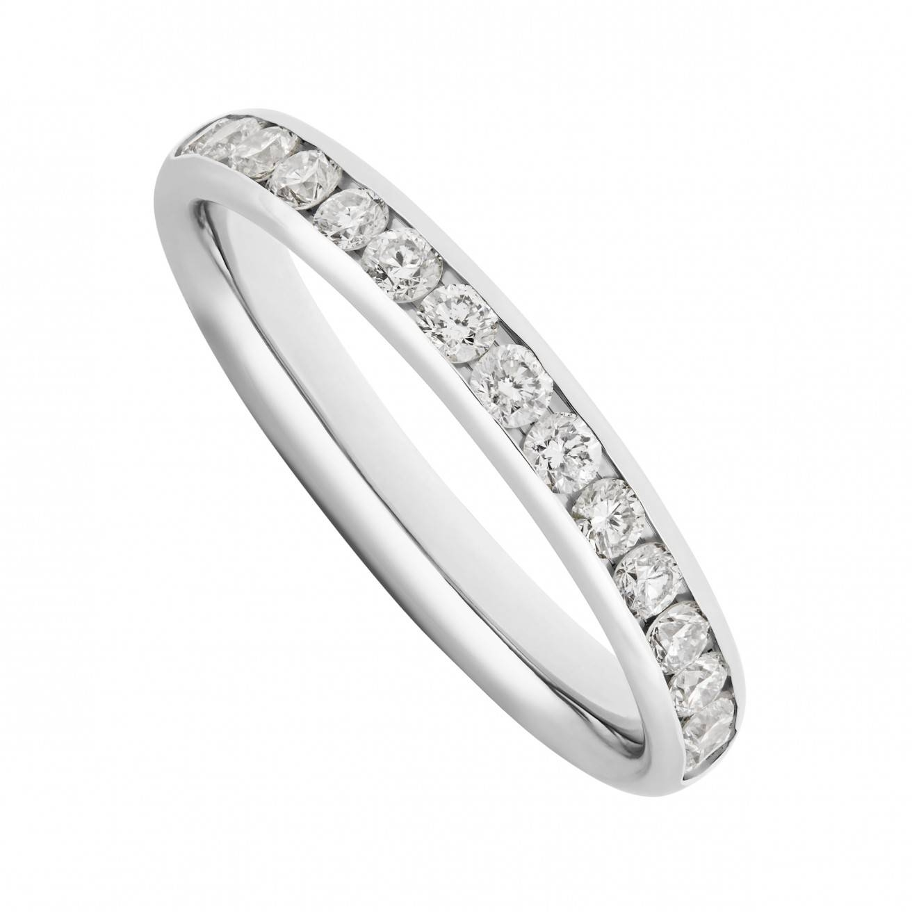 Buy Platinum Wedding Bands Online – Fraser Hart In Platinum Diamond Wedding Rings (Gallery 8 of 15)