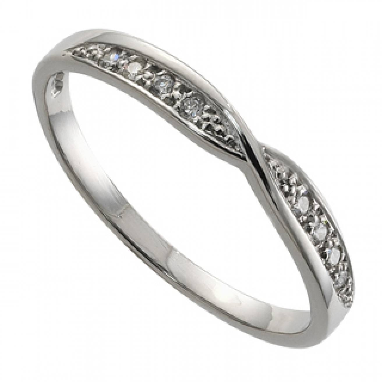 Featured Photo of Platinum Ladies Wedding Rings