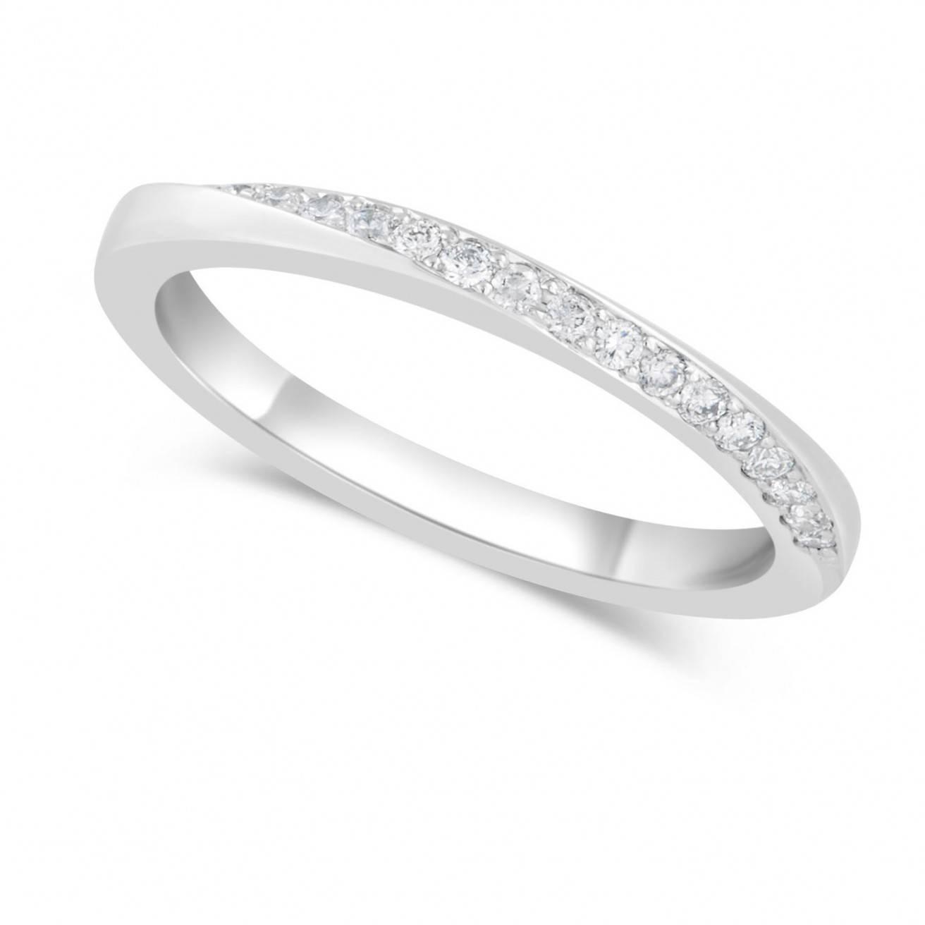 Buy Platinum Wedding Bands Online – Fraser Hart Inside Twisted Diamond Wedding Bands (View 4 of 15)