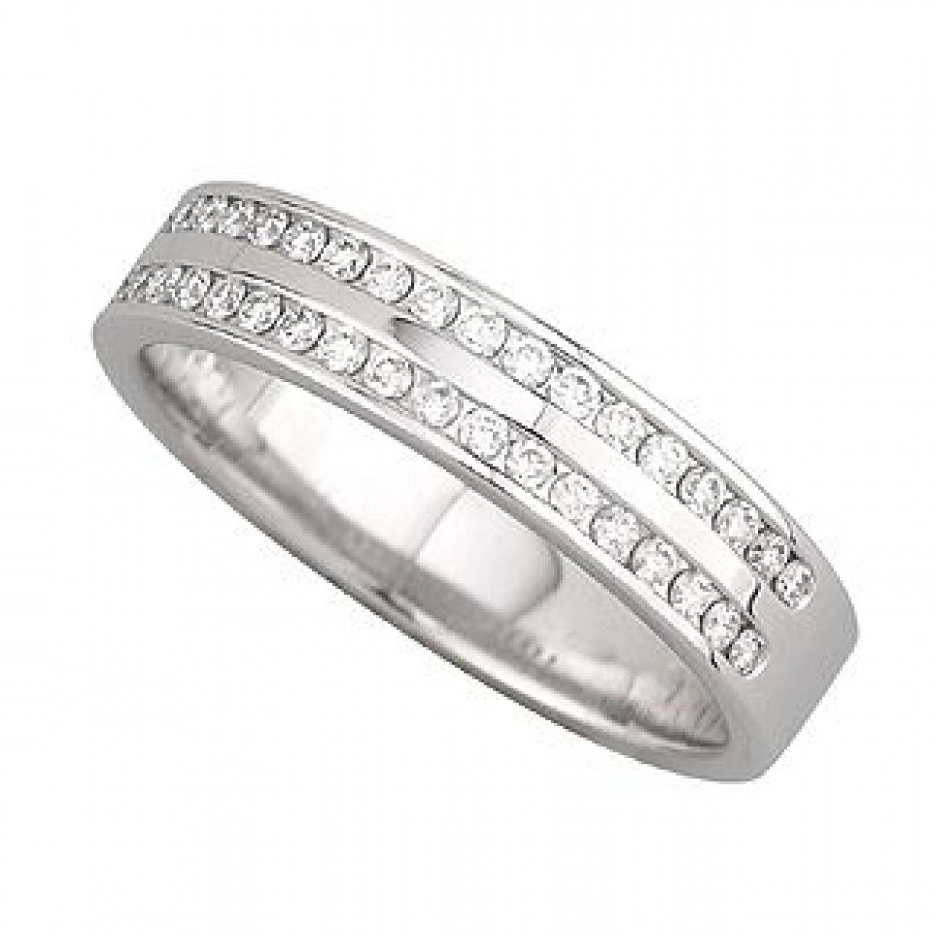 Buy Platinum Wedding Bands Online – Fraser Hart Intended For Platinum Diamond Wedding Rings (View 4 of 15)