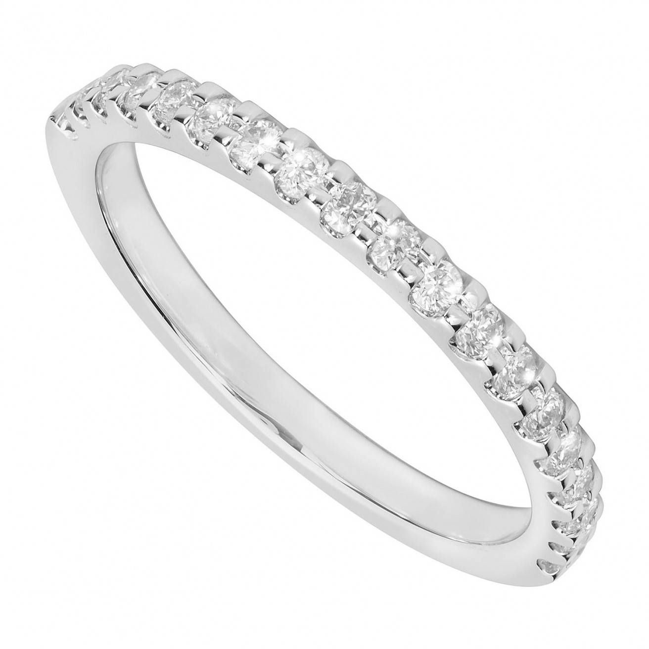 Featured Photo of Platinum Diamond Wedding Rings