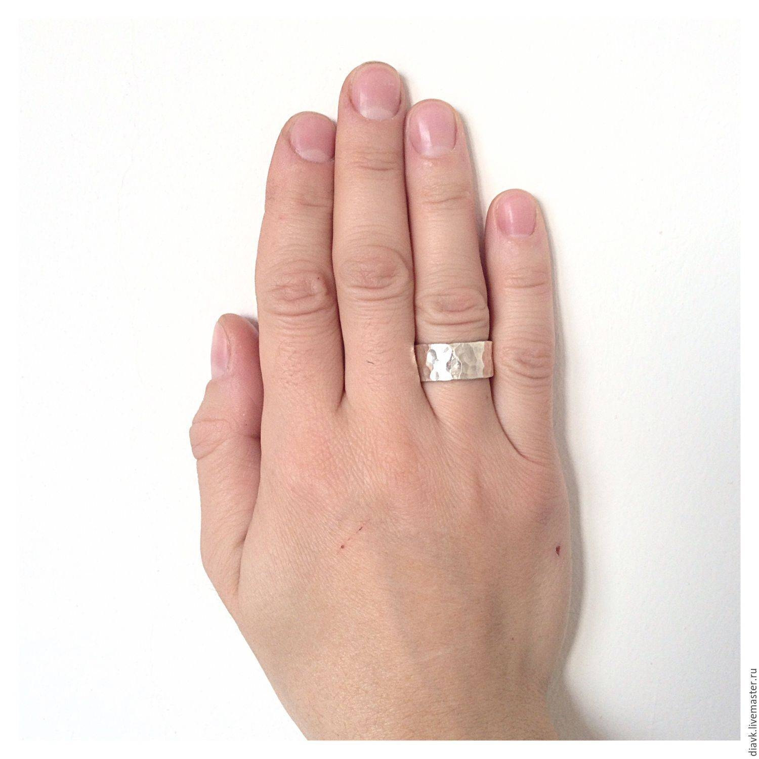 "Buy Wedding Rings ""the Oath"", Silver, Forged Rings, Wedding Pertaining To The Vow Wedding Rings (View 13 of 15)"