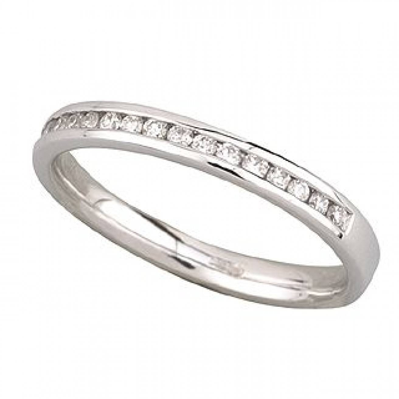Buy White Gold Wedding Rings Online – Fraser Hart For 18K White Gold Wedding Rings (View 8 of 15)