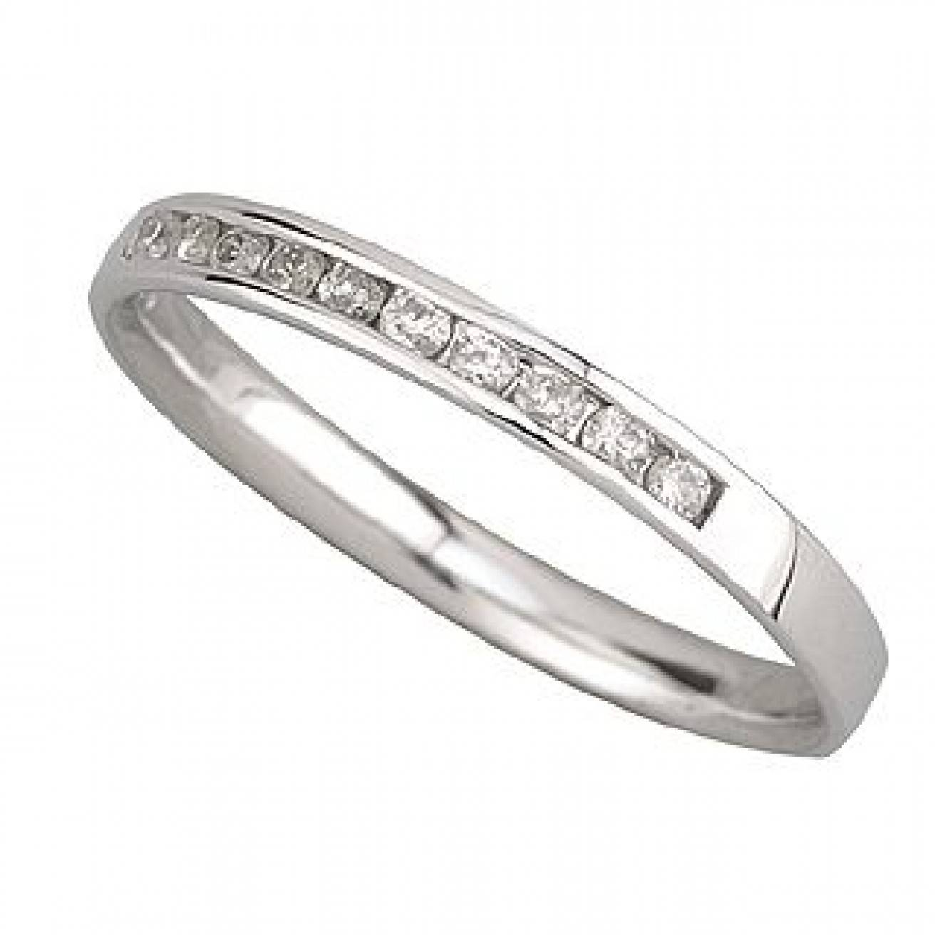 Buy White Gold Wedding Rings Online – Fraser Hart Within White Gold Wedding Rings For Women (View 15 of 15)