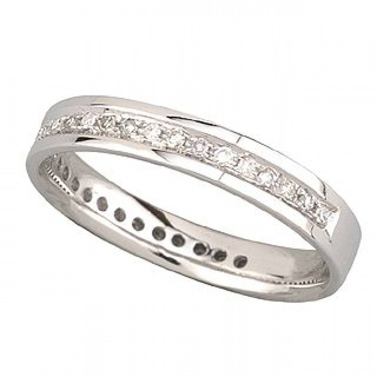 Buy White Gold Wedding Rings Online – Fraser Hart Within White Gold Wedding Rings With Diamonds (View 10 of 15)