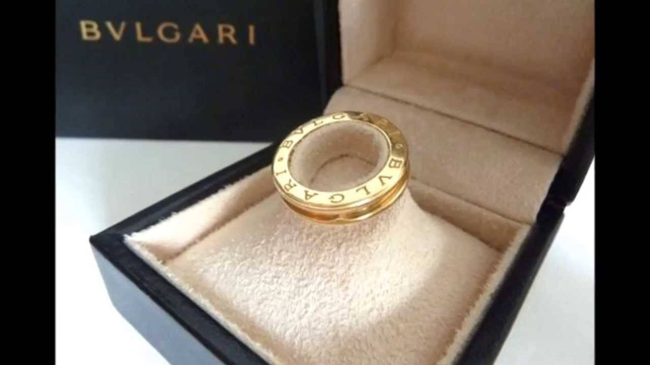Bvlgari B Zero 1 Band Ring In 18Ct Yellow Gold – Youtube Pertaining To Bvlgari Men Wedding Bands (Gallery 3 of 15)