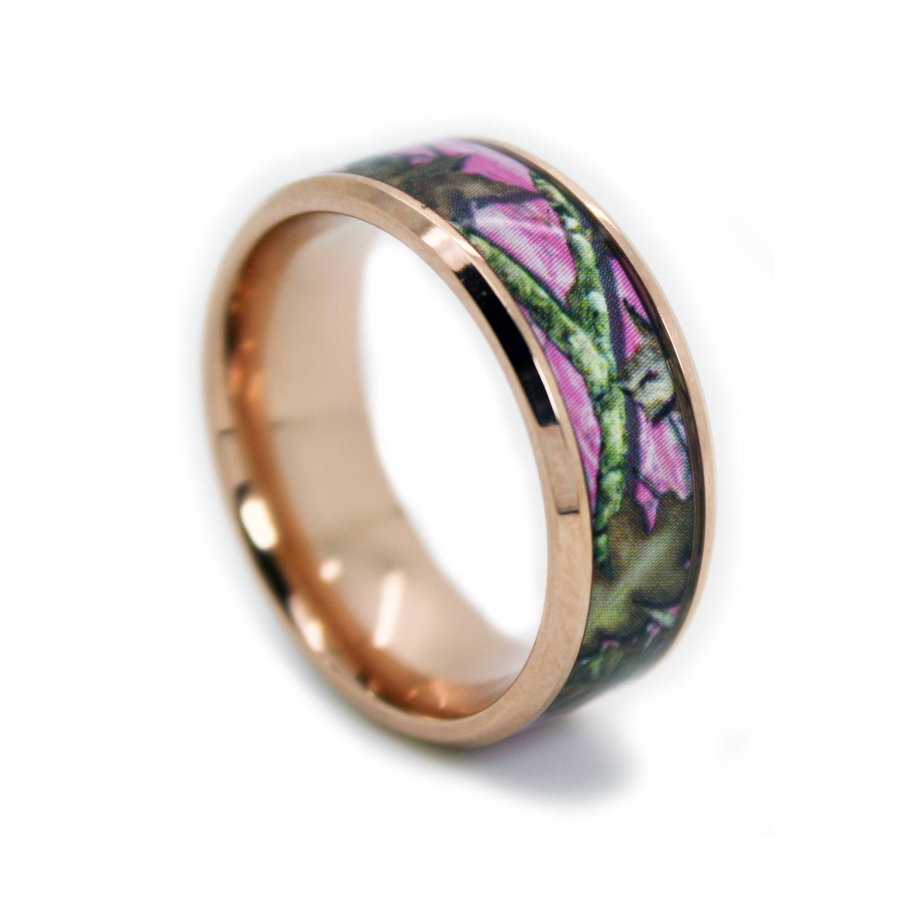 Camo Bands, Camouflage Wedding Rings For Just $99!, Camo Band With Regard To Camo Wedding Bands For Her (View 3 of 15)