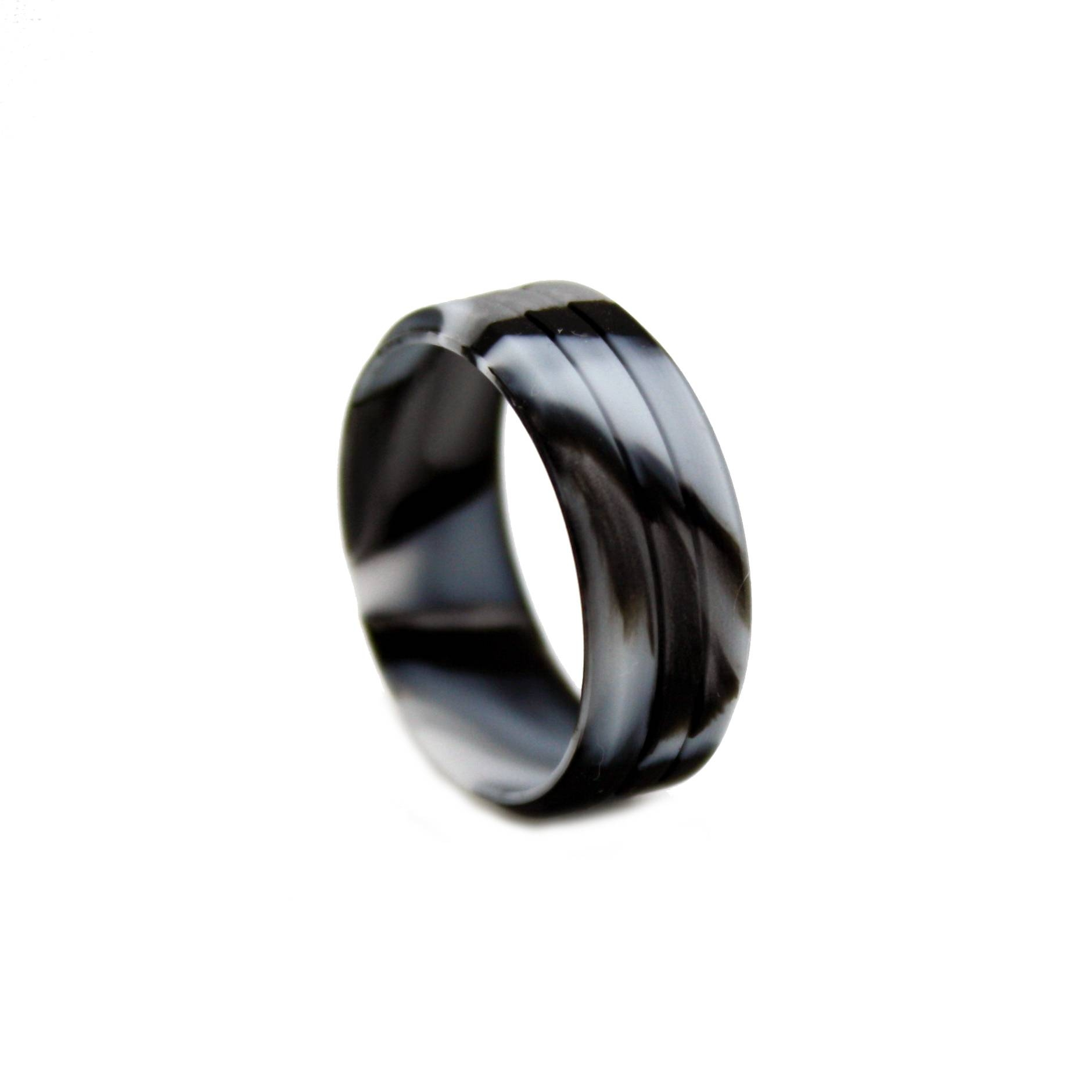 Camo Silicone Ring, Outdoor Wedding Bands, Camo Silicone Wedding Regarding Silicone Wedding Bands (Gallery 1 of 15)