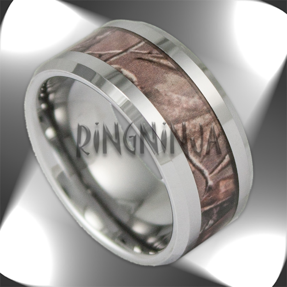 Camo Tungsten Rings And Wedding Bandsring Ninja Within Mens Camo Tungsten Wedding Bands (View 8 of 15)
