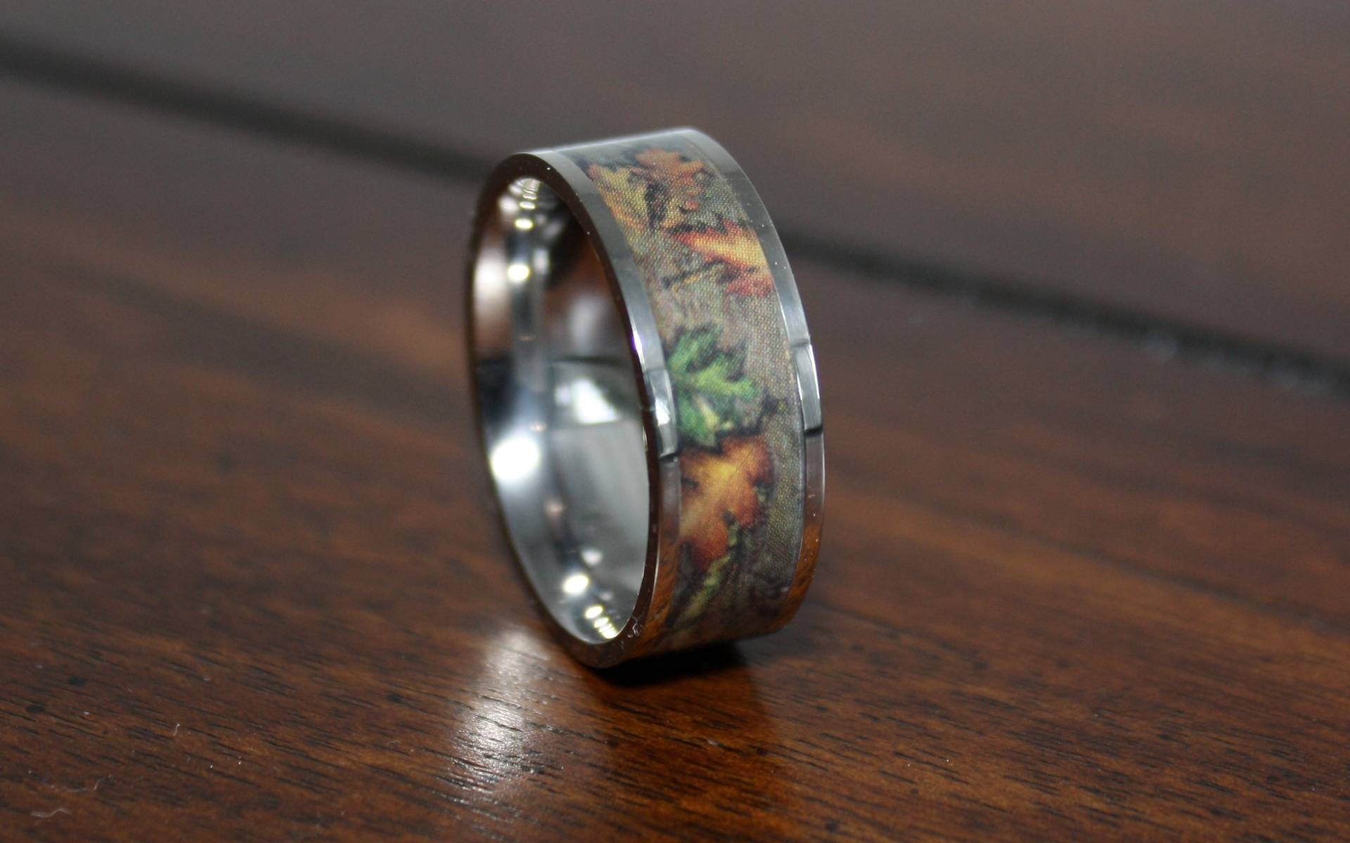 Camo Wedding Rings: Unique Wedding Ring Inspiration | Wedding Ideas Regarding Camouflage Wedding Bands For Him (View 12 of 15)