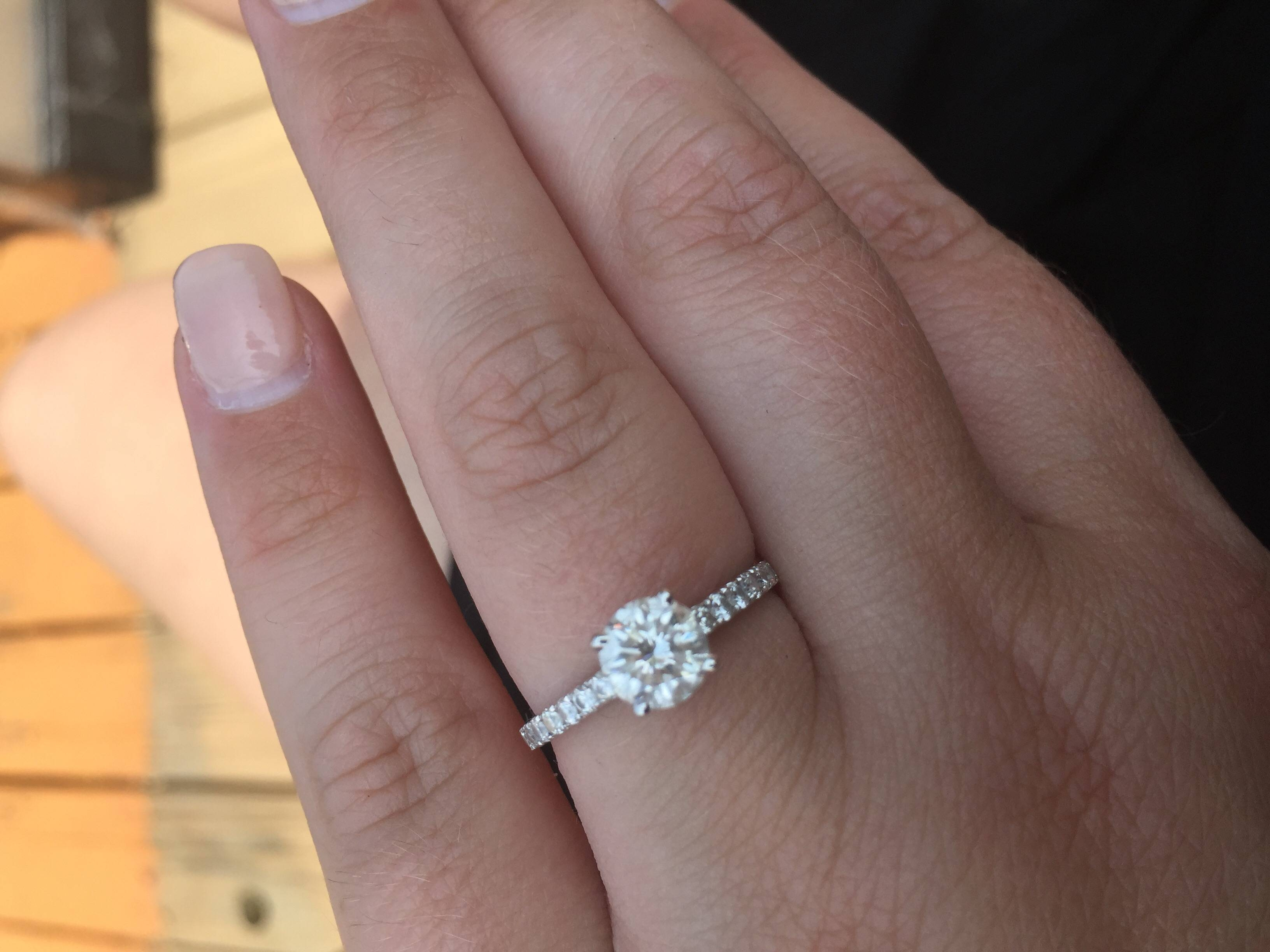Can I See Your 1.5 2mm Pave Bands? – Weddingbee Inside (View 2 of 15)