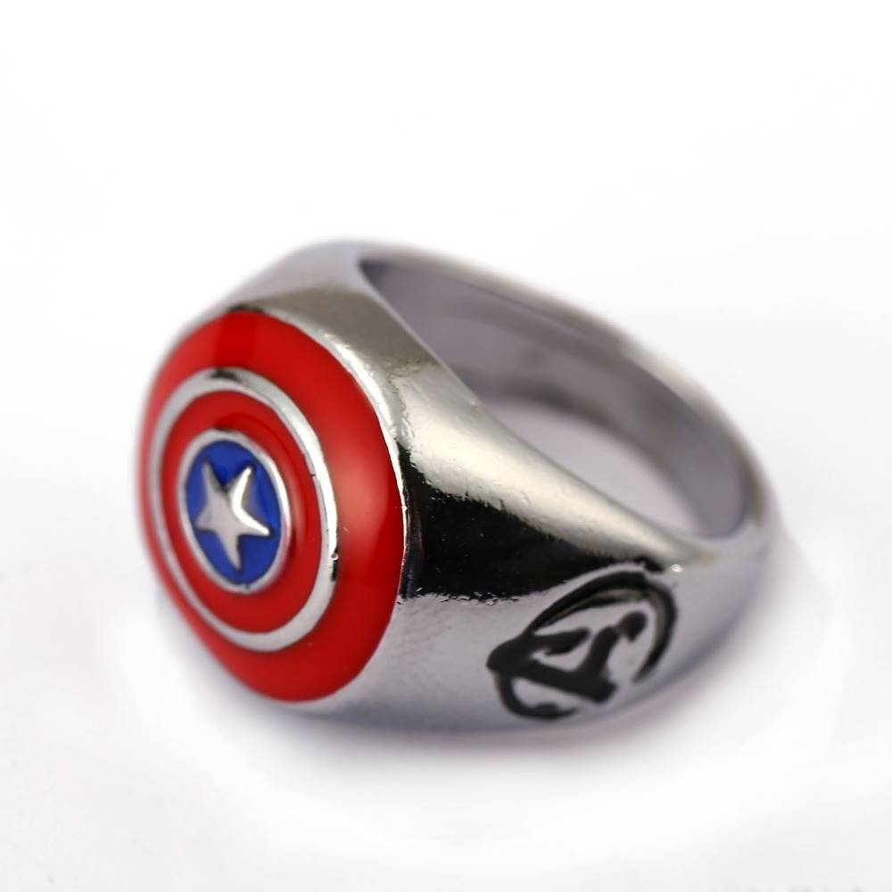 Captain America Wedding Band | Wedding Ideas With Captain America Wedding Bands (View 6 of 15)