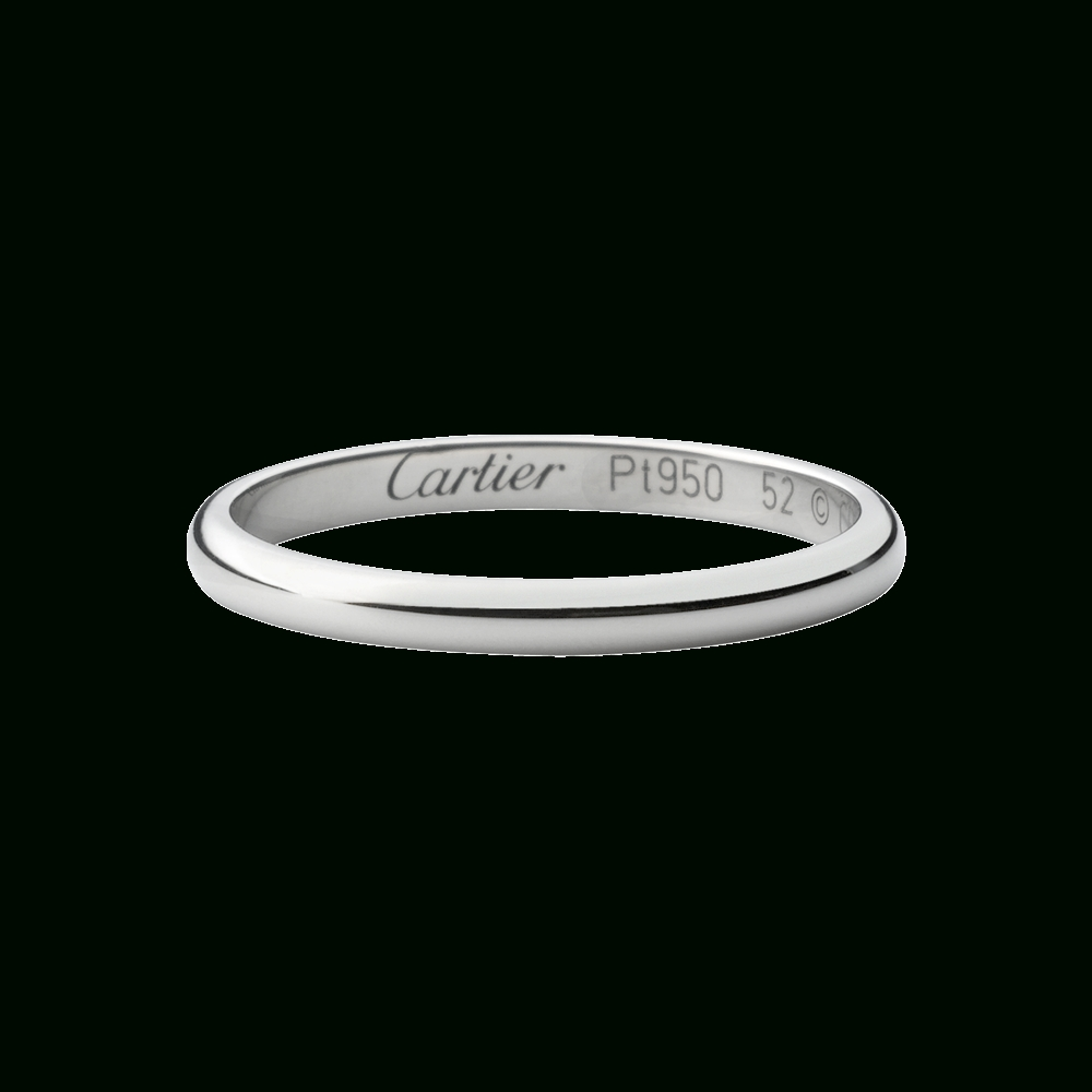 Featured Photo of Cartier White Gold Wedding Bands