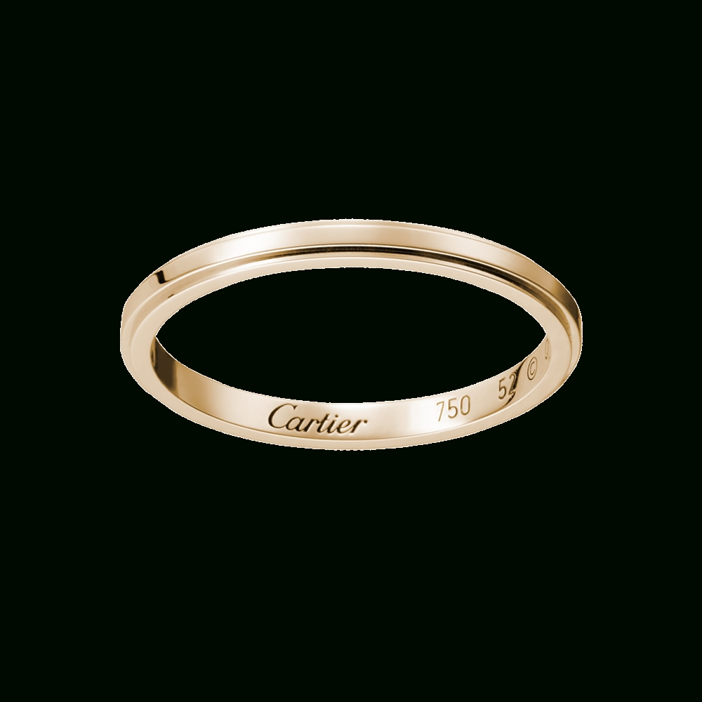 Cartier Wedding Rings To Set As The Simple Elegance | Egovjournal Within Cartier White Gold Wedding Bands (View 8 of 15)