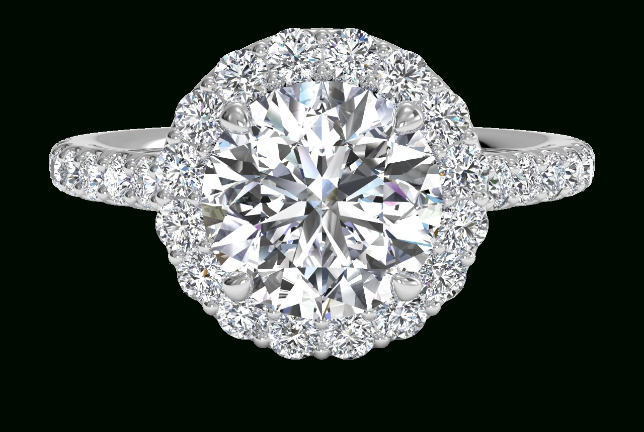 Celebrity Engagement Rings (And Ritani Lookalikes) For Engagement Rings Wrap Around Band (View 3 of 15)