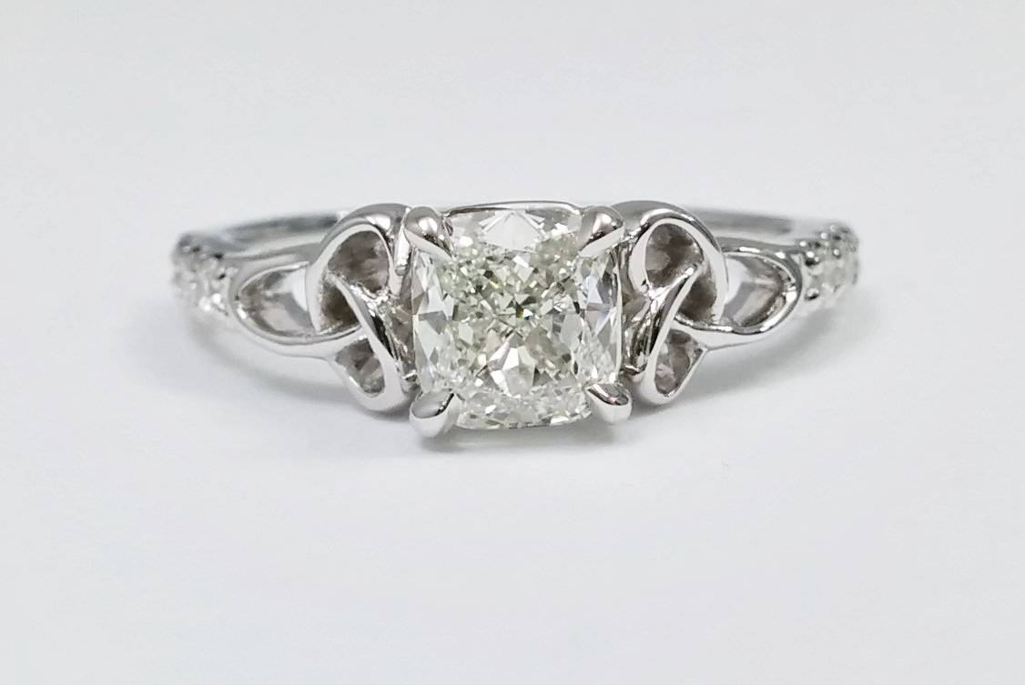 Celtic – Engagement Rings From Mdc Diamonds Nyc In Celtic Knot Engagement Rings (View 4 of 15)