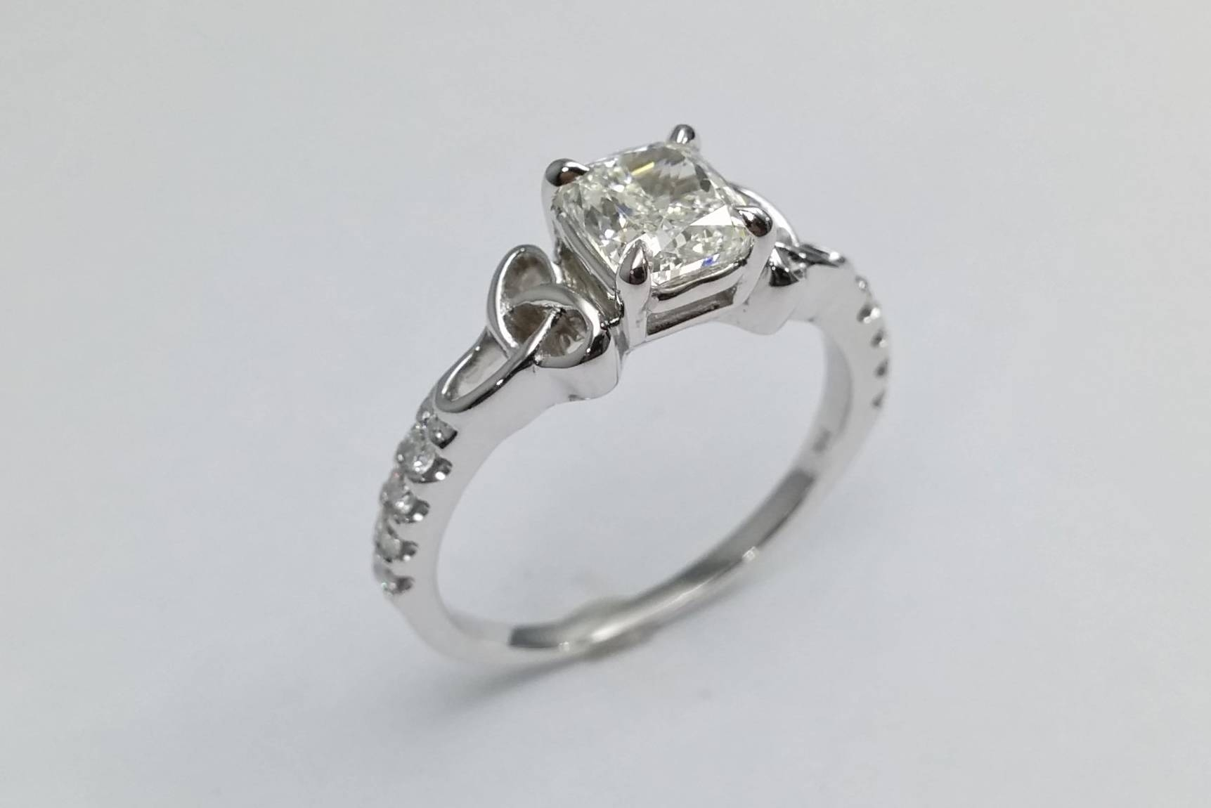 Celtic – Engagement Rings From Mdc Diamonds Nyc In Trinity Knot Engagement Rings (View 10 of 15)