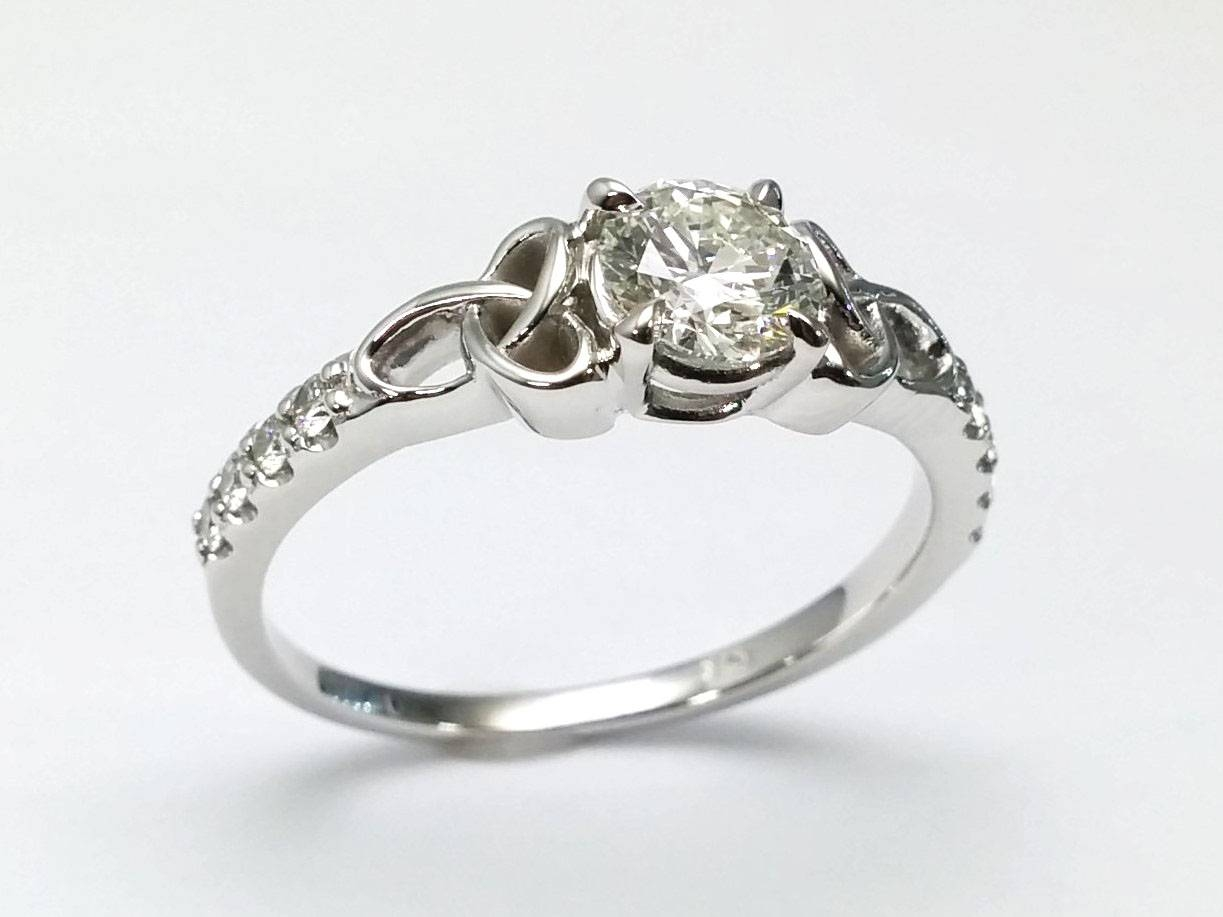 Celtic – Engagement Rings From Mdc Diamonds Nyc Intended For Knot Engagement Rings (View 1 of 15)
