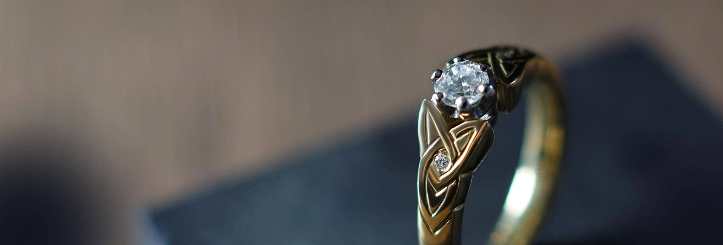 Celtic Engagement Rings | Harriet Kelsall Pertaining To Medieval Engagement Rings (Gallery 1 of 15)