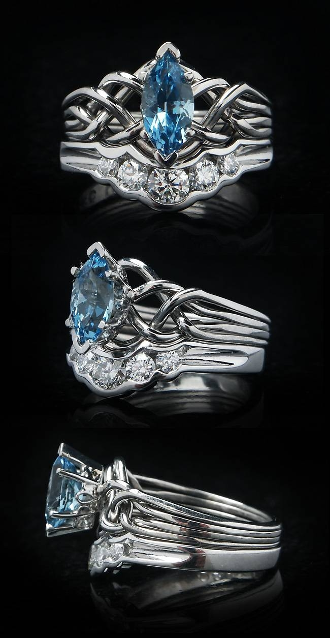 Celtic Engagement Rings Throughout Puzzle Engagement Rings (View 8 of 15)