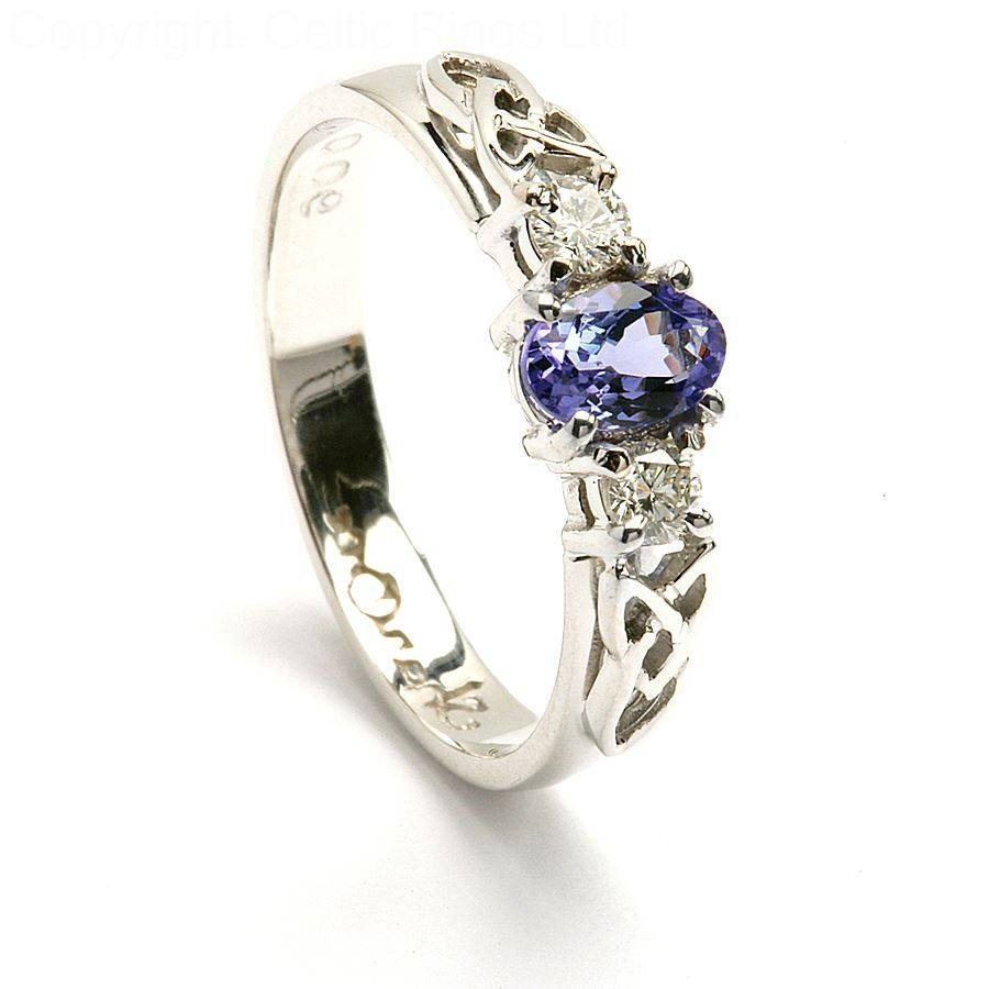 Celtic Engagement Rings With Complex Beautiful Design Within Irish Engagement Rings (View 10 of 15)