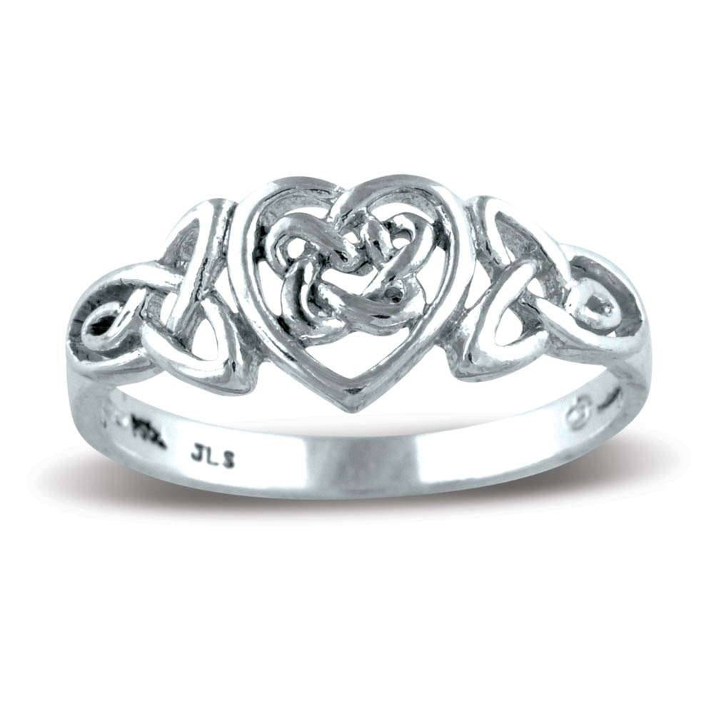 Celtic Love Knot Ring For Celtic Love Knot Engagement Rings (View 14 of 15)