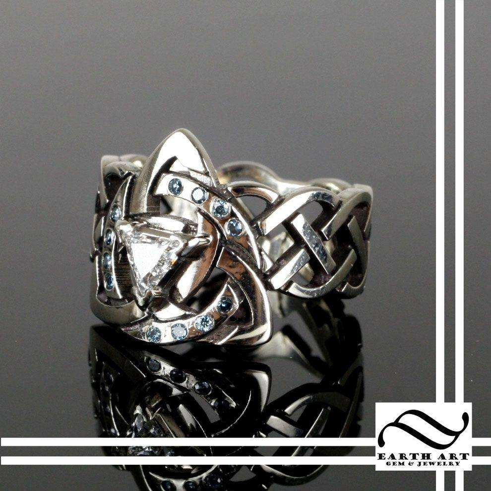 Celtic Rings Ideas & Designs | Custommade Within Celtic Puzzle Engagement Rings (View 6 of 15)