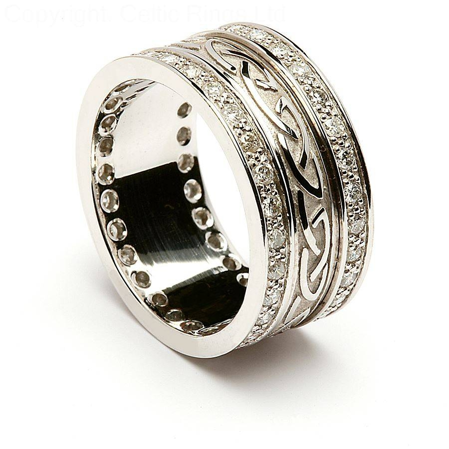 Celtic Wedding Ring Sets – Jewelry Exhibition Pertaining To Irish Engagement Ring Sets (View 12 of 15)
