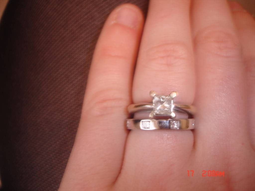 Changing Engagement Ring?? – Wedding Forum | You & Your Wedding Within Wedding Bands That Fits Around Engagement Ring (View 3 of 15)