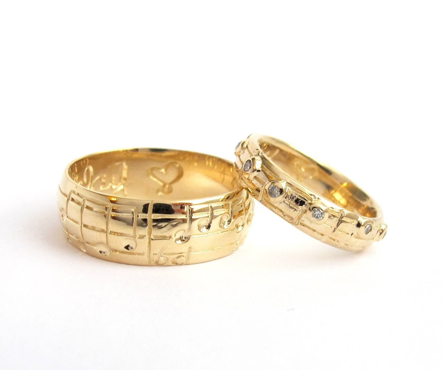 Charming New Wedding Rings Within Music Wedding Rings (View 2 of 15)