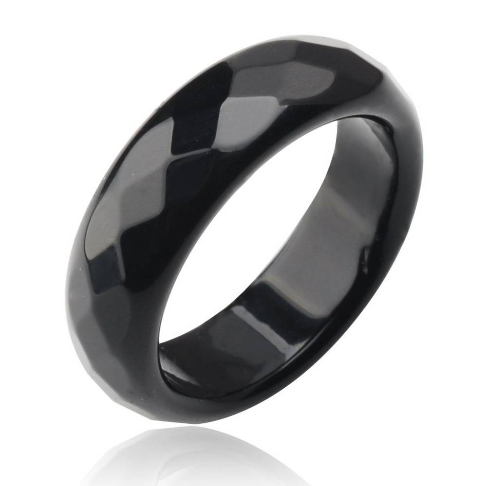 Cheap Black Stone Rings Engagement, Find Black Stone Rings Regarding Onyx Wedding Bands (View 2 of 15)