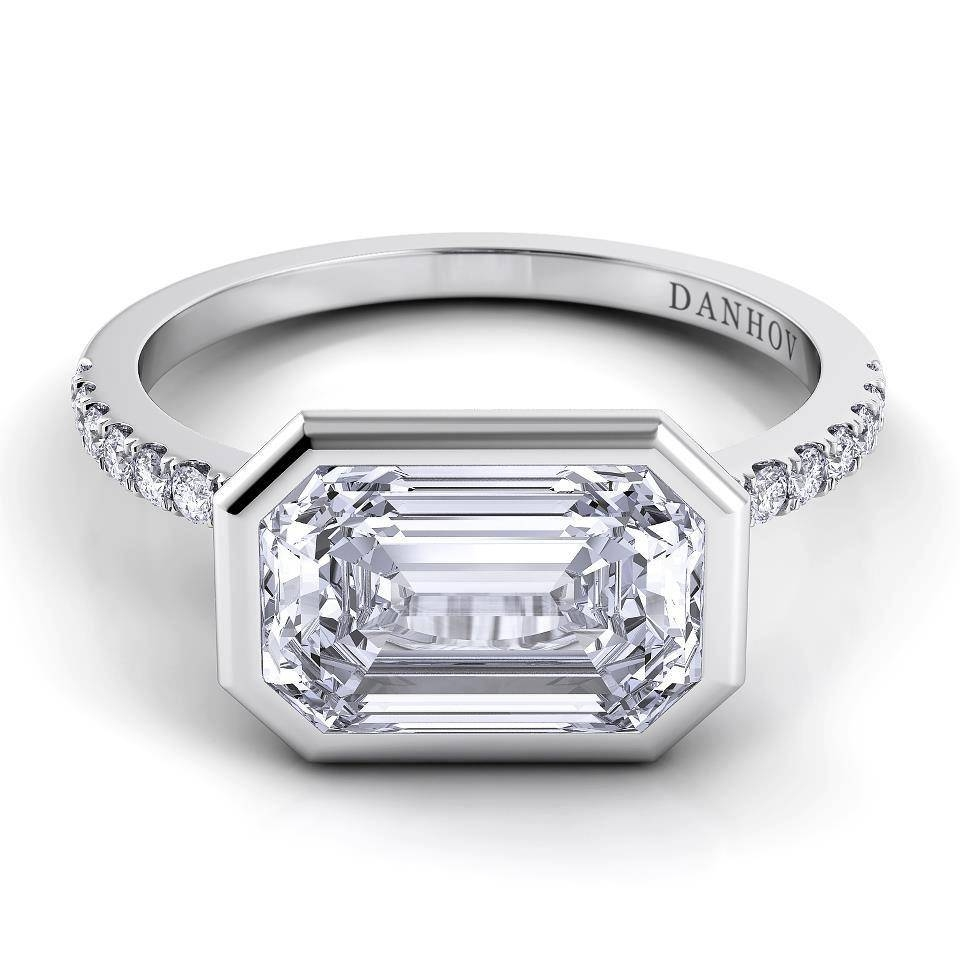 Chicago Engagement Ring Shoppers Will Love New Danhov Rings Within Flat Engagement Rings (View 8 of 15)