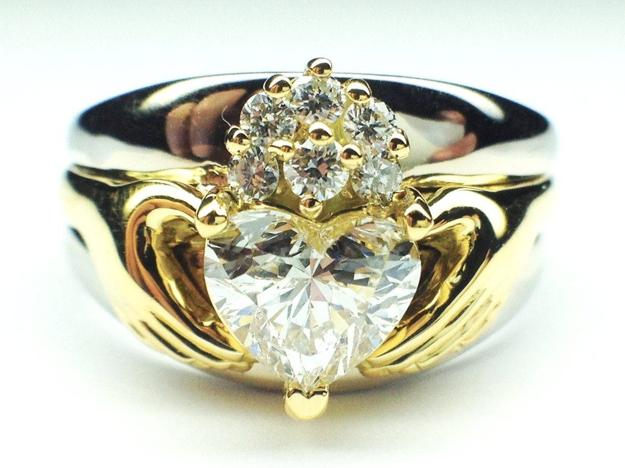 Claddagh – Engagement Rings From Mdc Diamonds Nyc Inside Irish Claddagh Engagement Rings (View 3 of 15)